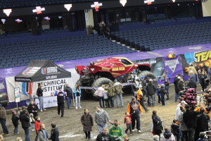 The Monster Jam Pit Party